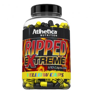 Ripped Extreme Yellow 120 Cápsulas Atlhetica Nutrition
