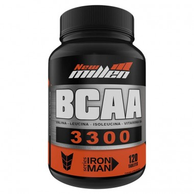BCAA 3300mg 120 Tabletes New Millen