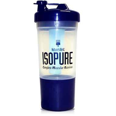 Coqueteleira (shaker) Bottle Isopure Natures Best