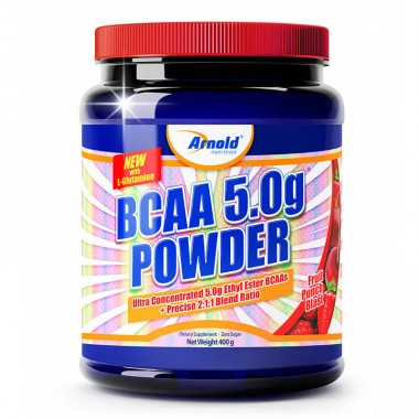 Bcaa 5.0g Powder 400g Arnold Nutrition