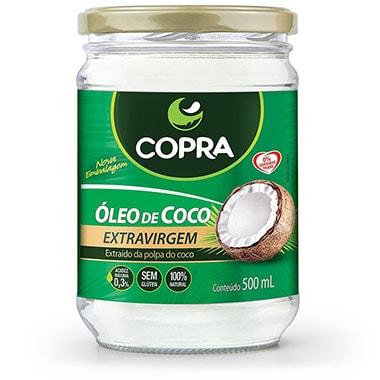 Óleo de Coco Extra Virgem 500ml Copra