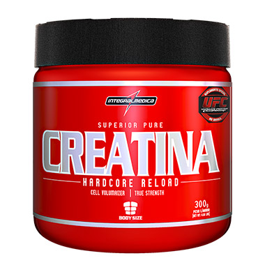 Creatina Hardcore 300g Integralmédica
