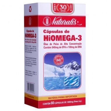 Hiomega 3 60 cápsulas Naturalis
