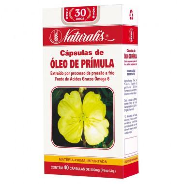 Óleo de Prímula 40 Cápsulas - Naturalis