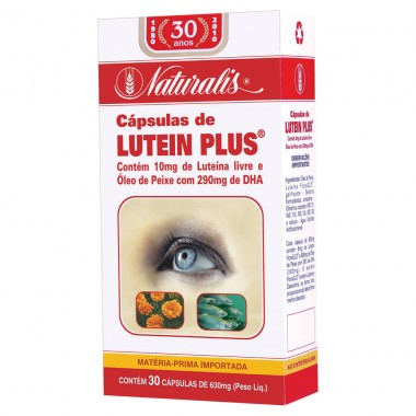 Lutein Plus 615mg 30 cápsulas Naturalis