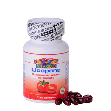 Licopene 100 cápsulas Vit Gold