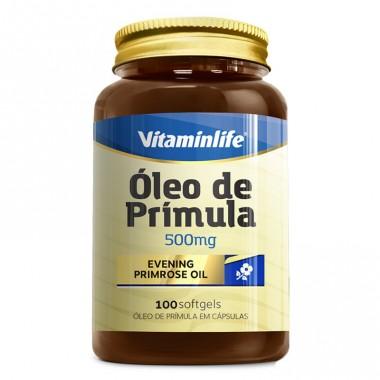 Evening Primrose Oil (óleo de prímula) 100 cápsulas Vitamin Life