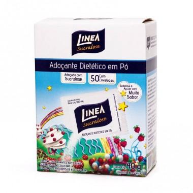 Adoçante Sucralose 50 envelopes Linea