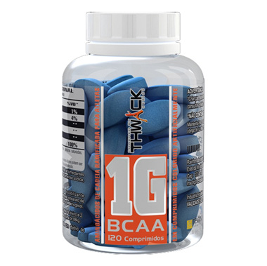 BCAA Concentrado 120 tabletes (1000mg por tab) Body Action