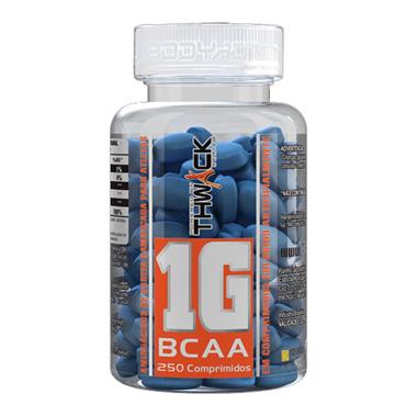 BCAA Concentrado 250 tabletes (1000mg por tab) Body Action