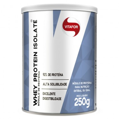 Whey Protein Isolate 250g Vitafor - Neutro