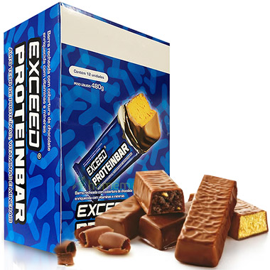 Proteinbar Exceed 40g (12 barras) Advanced Nutrition
