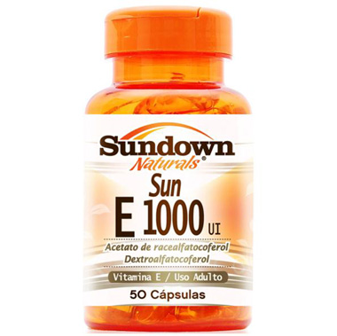 Vitamin E 1000ui 50 cápsulas Sundown