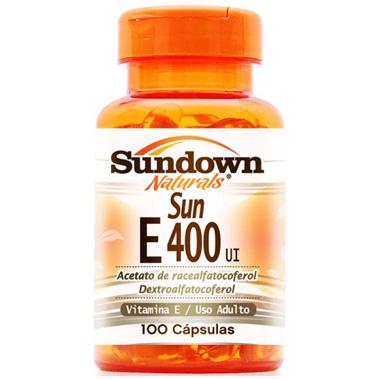 Vitamin E 400ui 100 cápsulas Sundown
