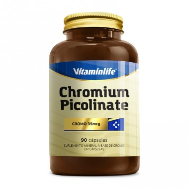 Chromium Picolinate 90 cápsulas Vitamin Life