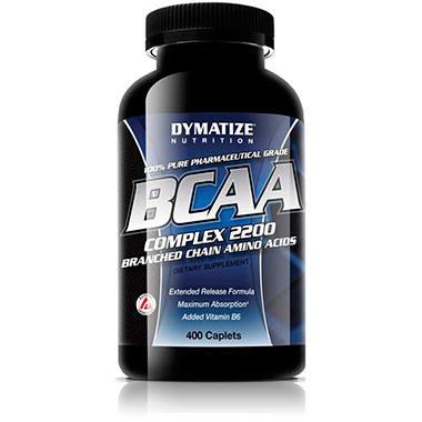 BCAA 400 tabletes Dymatize