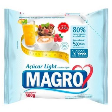Açúcar Magro 500g Lowçucar