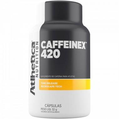 Caffeinex 420mg 60 cápsulas Atlhetica Nutrition