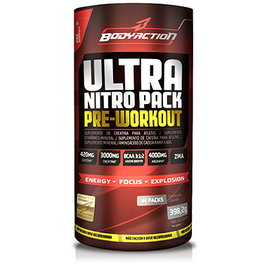 Ultra Nitro Pack 44 sachês Body Action