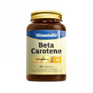 Beta Caroteno 60 cápsulas Vitamin Life