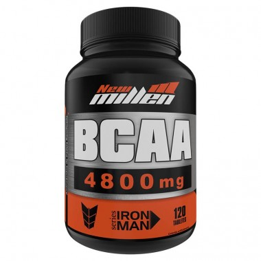 Bcaa 4800mg 120 Tabletes New Millen
