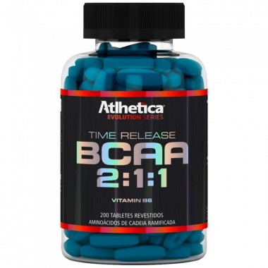 BCAA Time Release 2:1:1 200 tabletes Atlhetica Nutrition