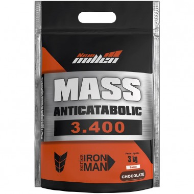 Mass Anticatabolic 3400 3kg New Millen