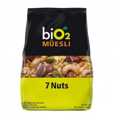 Bio2 Muesli 250g 7 Nuts Organic