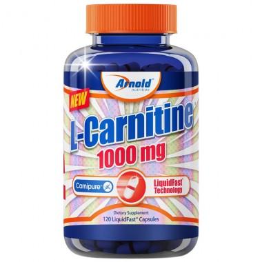 L-Carnitine 1000mg 120 cápsulas Arnold Nutrition