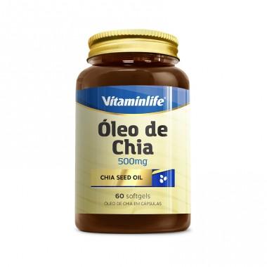 Chia Seed Oil 60 softgels (Óleo de Chia) Vitamin Life