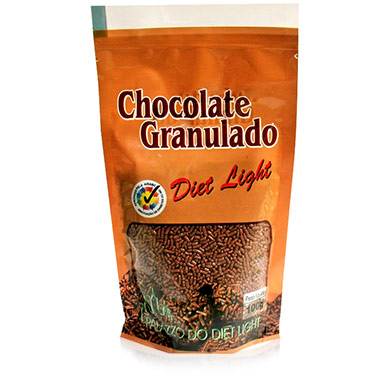 Chocolate Granulado Diet Light 100g Palazzo do Diet Light
