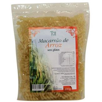 Macarrão de Arroz sem glúten 200g TUI Alimentos