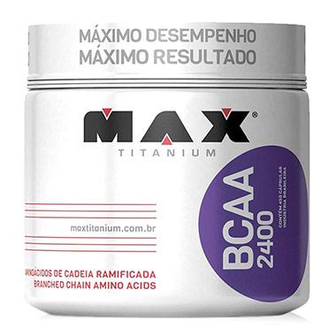 BCAA 2400 com 450 cápsulas Max Titanium