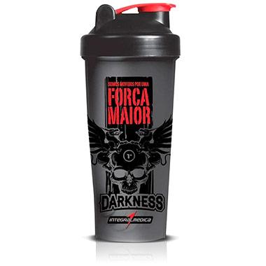 Coqueteleira (shaker) Darkness Integralmédica 600 ml