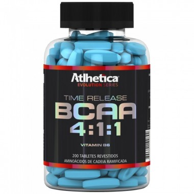 BCAA Time Release 4:1:1 200 tabletes Atlhetica Nutrition