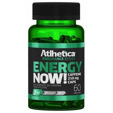 Energy Now 60 cápsulas Atlhetica Nutrition