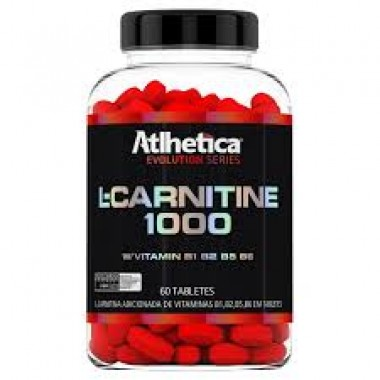 L-Carnitina 60 Tabletes Atlhetica Nutrition