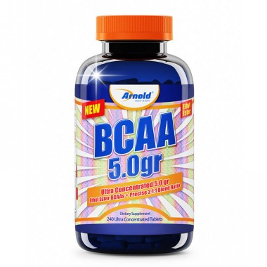 Bcaa 5.0g Ethyl Ester 240 tabletes Arnold Nutrition