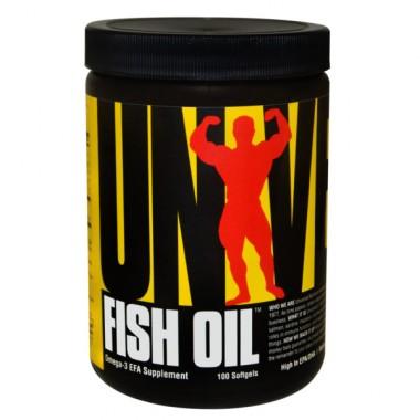 Fish Oil 100 cápsulas Universal Nutrition
