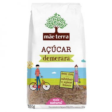 Açúcar Demerara 350g Mãe terra