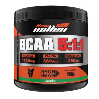 BCAA Powder 5:1:1 200g New Millen