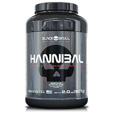Hannibal 907g Black Skull