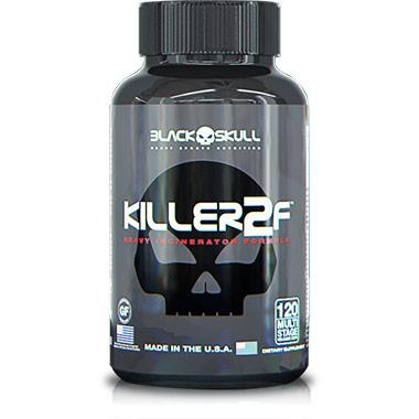 Killer 2F 120 cápsulas Black Skull