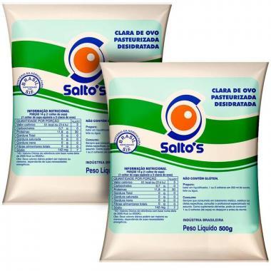 Kit com 2 Albumina de 500g Cada - Saltos