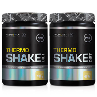Kit 2 Thermo Shake Diet 400g Cada Probiótica