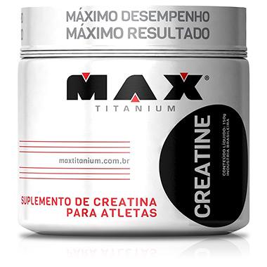 Creatina Monohidratada 150g Max Titanium