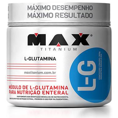 Glutamina L-G 300g Max Titanium