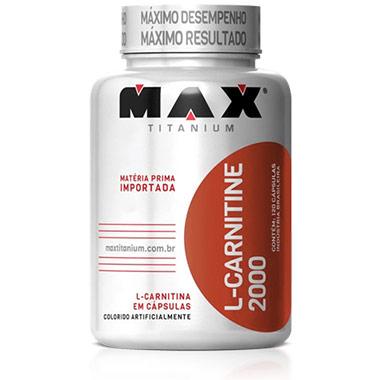 L-Carnitina Max Titanium 60 cápsulas