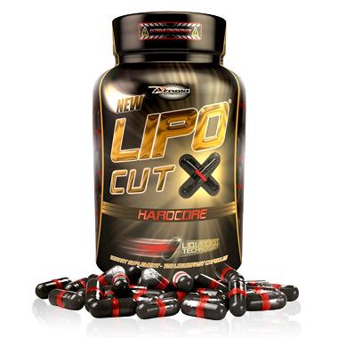 Lipo Cut x Hardcore 60 cápsulas Arnold Nutrition