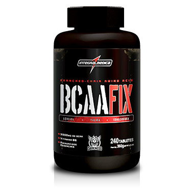 BCAA Fix Darkness 240 Tabletes Integralmédica